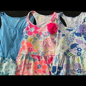Girls Size 7/8 Children's Place 3 Dress Bundle